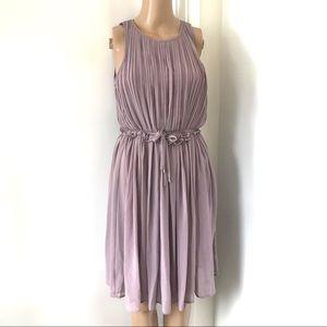 NWT H&M light purple sleeveless mini dress